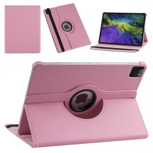 iPad Pro 11 (2021) Book Case Tablet Smart Cover Hülle 360° Rosa