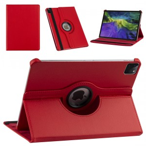 iPad Pro 11 (2021) Book Case Tablet Smart Cover Hülle 360° Rot