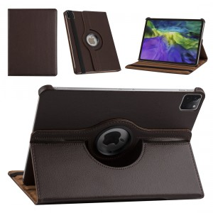 iPad Pro 11 (2021) Book Case Tablet Smart Cover Hülle 360° Braun
