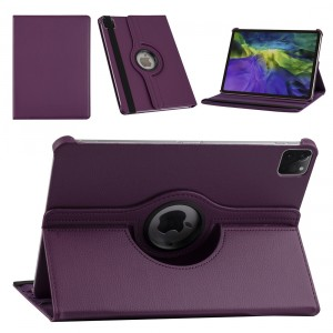 iPad Pro 11 (2021) Book Case Tablet Smart Cover Hülle 360° Lila