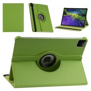 iPad Pro 11 (2021) Book Case Tablet Smart Cover Hülle 360° Grün