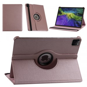 iPad Pro 11 (2021) Book Case Tablet Smart Cover Hülle 360° Rose Gold