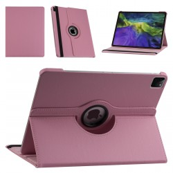 iPad Pro 12.9 (2021) Book Case Tablet Smart Cover Hülle 360° Rosa