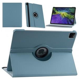 iPad Pro 12.9 (2021) Book Case Tablet Smart Cover Hülle 360° Hellblau