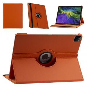 iPad Pro 12.9 (2021) Book Case Tablet Smart Cover Hülle 360° Orange
