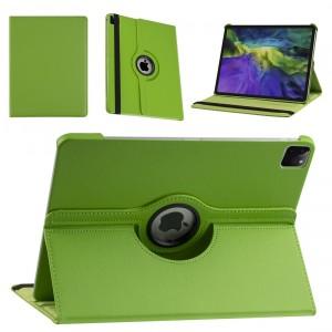 iPad Pro 12.9 (2021) Book Case Tablet Smart Cover Hülle 360° Grün