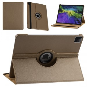 iPad Pro 12.9 (2021) Book Case Tablet Smart Cover Hülle 360° Gold