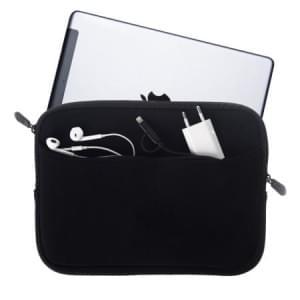 """Dark Room Neopren Tasche / Schutzhülle mit extra Fach 10"""" Tablets / Notebooks schwarz"""