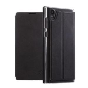 Dark Book Folio Tasche | Sony Xperia L1 | Kunstleder schwarz