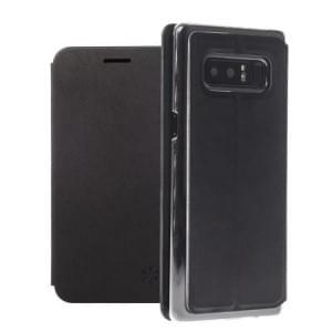 Dark Book Folio Tasche | Samsung Galaxy Note 8 | Kunstleder schwarz