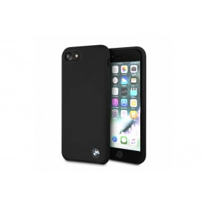 BMW Silikon Cover für iPhone 8 / 7 schwarz