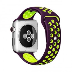 Beline Silikon Armband Watch Active / 3 20 mm Huawei GT 2 Garmin Vivomove, Vivoactive lila Grün