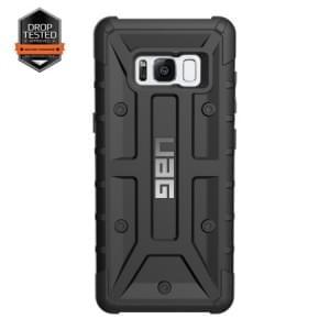 Urban Armor Gear Pathfinder Schutzhülle | Samsung Galaxy S8+ Plus | Schwarz