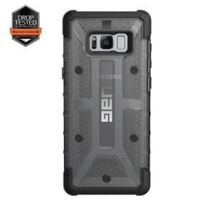 Urban Armor Gear Plasma Schutzhülle | Samsung Galaxy S8+ Plus | Ash (grau transparent)