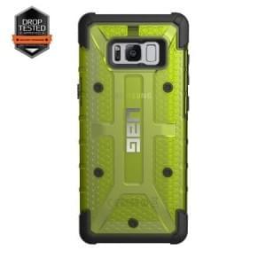 Urban Armor Gear Plasma Schutzhülle | Samsung Galaxy S8+ Plus | Citron (gelb transparent)