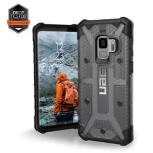 Urban Armor Gear Plasma Case | Samsung Galaxy S9 | Ash Transparent