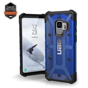 Urban Armor Gear Plasma Case | Samsung Galaxy S9 | Blau Transparent