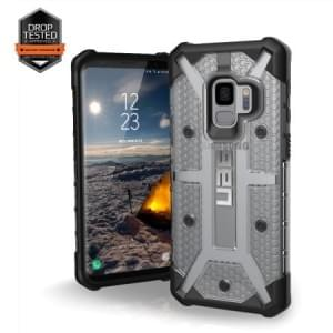 Urban Armor Gear Plasma Case | Samsung Galaxy S9 | Ice Transparent