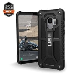 Urban Armor Gear Monarch Case | Samsung Galaxy S9 | Schwarz Matt