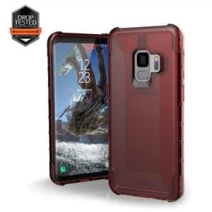 Urban Armor Gear Plyo Case | Samsung Galaxy S9 | Rot Transparent