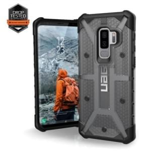 Urban Armor Gear Plasma Case | Samsung Galaxy S9+ Plus | Ash grau transparent
