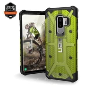 Urban Armor Gear Plasma Case | Samsung Galaxy S9+ Plus | Citron gelb transparent