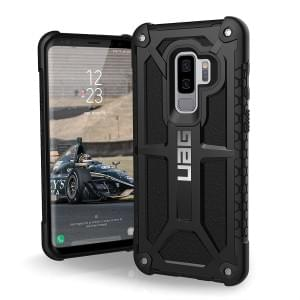 Urban Armor Gear Monarch Case | Samsung Galaxy S9+ Plus | Schwarz Matt