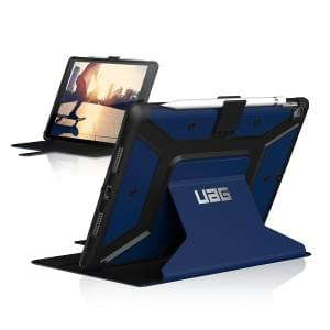 Urban Armor Gear Metropolis Case | Tasche für iPad Air 2019 | Cobalt Blau