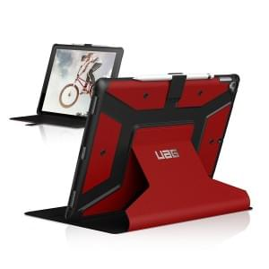 Urban Armor Gear Metropolis Case | Tasche für Apple iPad Pro 12,9 | magma rot