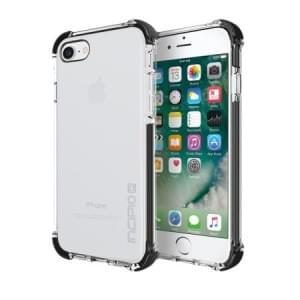Incipio Sport Series Reprieve Case I Apple iPhone 8 / 7 I Transparent / Schwarz