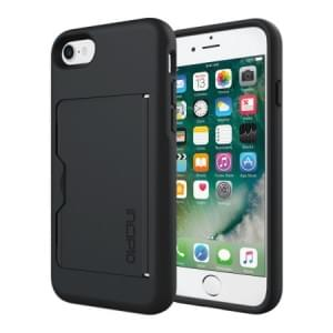 Incipio Stowaway Case I Apple iPhone 8 / 7 I Schwarz