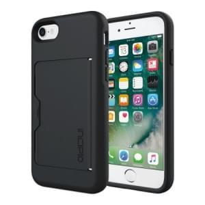 Incipio Stowaway Case I Apple iPhone 8 / 7 I Schwarz