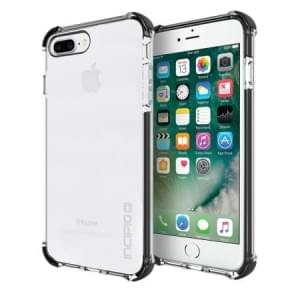 Incipio Sport Series Reprieve Case I Apple iPhone 8 Plus / 7 Plus I Transparent / Schwarz