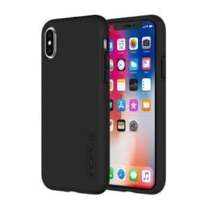 Incipio DualPro Case I Schutzhülle für iPhone X / Xs I Schwarz / Schwarz