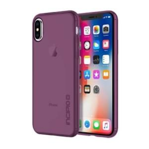 Incipio NGP Pure Case I Schutzhülle für iPhone X / Xs I Plum / Transparent