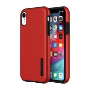 Incipio DualPro Case | Schutzhülle für iPhone XR | Iridescent Rot / Schwarz