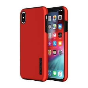 Incipio DualPro Case | Schutzhülle für iPhone Xs Max | Iridescent Rot / Schwarz