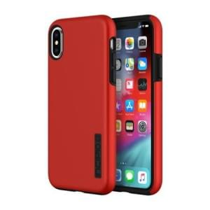 Incipio DualPro Case I Schutzhülle für iPhone X / Xs I Iridescent Rot / Schwarz