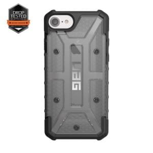 Urban Armor Gear Plasma Case I Apple iPhone 8 / 7 I Ash grau transparent