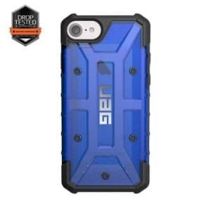 Urban Armor Gear Plasma Case I Apple iPhone 8 / 7 I Cobalt blau transparent
