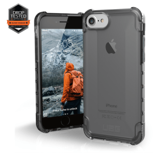Urban Armor Gear Plyo Case I Apple iPhone 8 / 7 I Ash transparent