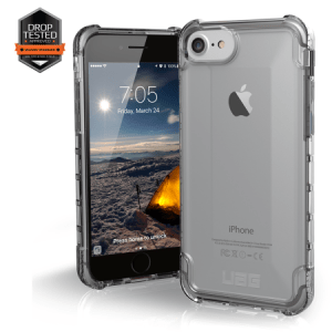 Urban Armor Gear Plyo Case I Apple iPhone 8 / 7 I Ice transparent