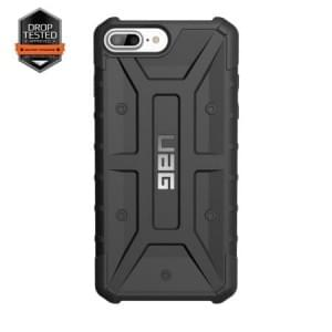 Urban Armor Gear Pathfinder Case I Apple iPhone 8 Plus / 7 Plus I Schwarz