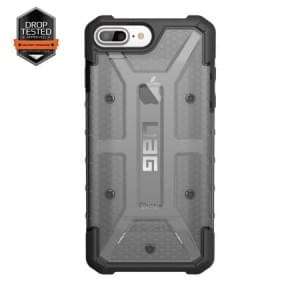 Urban Armor Gear Plasma Case I Apple iPhone 8 Plus / 7 Plus I Ash grau transparent