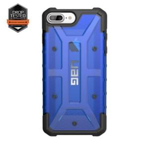 Urban Armor Gear Plasma Case I Apple iPhone 8 Plus / 7 Plus I Cobalt blau transparent