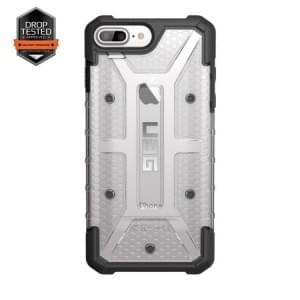 Urban Armor Gear Plasma Case I Apple iPhone 8 Plus / 7 Plus I Ice transparent