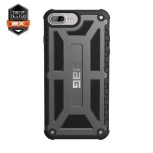 Urban Armor Gear Monarch Case I Apple iPhone 8 Plus / 7 Plus I Graphite dunkelgrau