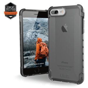Urban Armor Gear Plyo Case I Apple iPhone 8 Plus / 7 Plus I Ash transparent