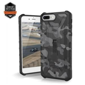 Urban Armor Gear Pathfinder Case I Apple iPhone 8 Plus / 7 Plus I Schwarz / Camo