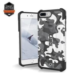 Urban Armor Gear Pathfinder Case I Apple iPhone 8 Plus / 7 Plus I Weiß / Camo